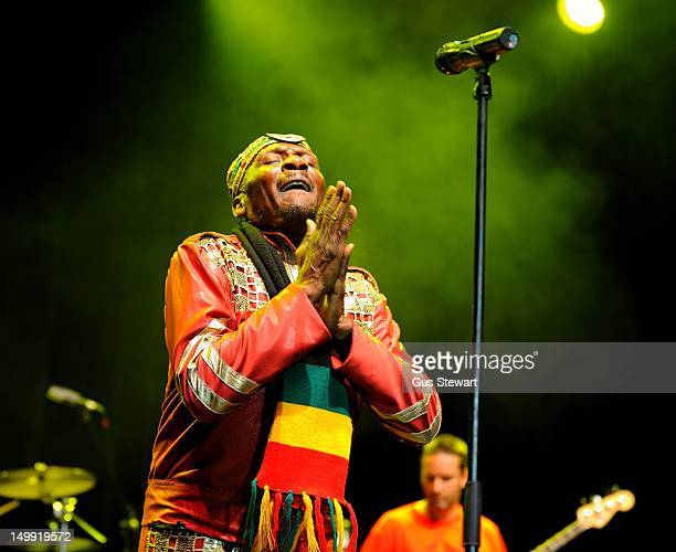 Jimmy Cliff performs on stage during Respect Jamaica's 50th anniversary celebrations at Indigo2 at O2 Arena on August 6 2012 in London United Kingdom