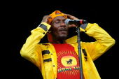 Jimmy Cliff performs onstage during Bonnaroo 2010 at What Stage on June 12 2010 in Manchester Tennessee