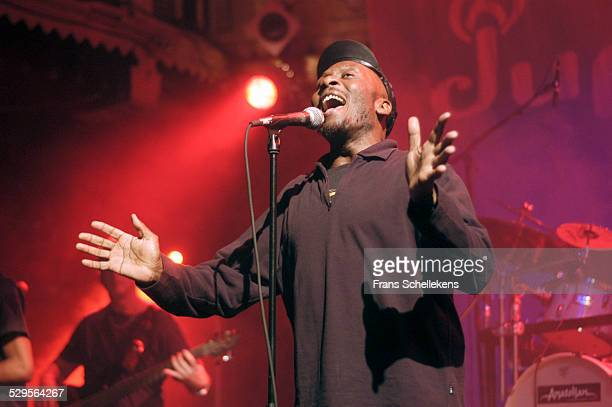 Jimmy Cliff vocal performs with DUP at the Paradiso on November 11th 2002 in Amsterdam Netherlands