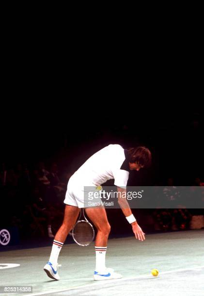 Jimmy Connors during a match on January 51979 in New York New York