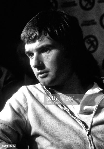 Jimmy Connors during a press conference on January 51979 in New York New York