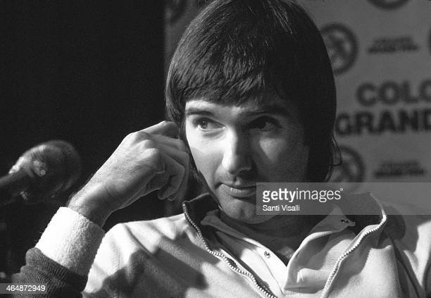 Jimmy Connors during an interview on January 7 1979 in New York New York