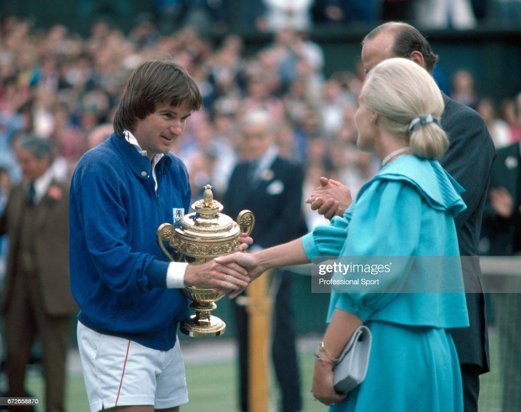 Jimmy Connors Wins Wimbledon