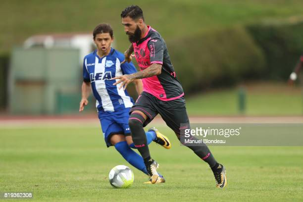 Jimmy Durmaz of Toulouse during the friendly match between Toulouse FC and Deportivo Alaves on July 19 2017 in Saint Jean de Luz France