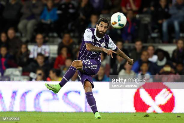 Jimmy Durmaz of Toulouse during the Ligue 1 match between Toulouse FC and Dijon FCO at Stadium Municipal on May 20 2017 in Toulouse France