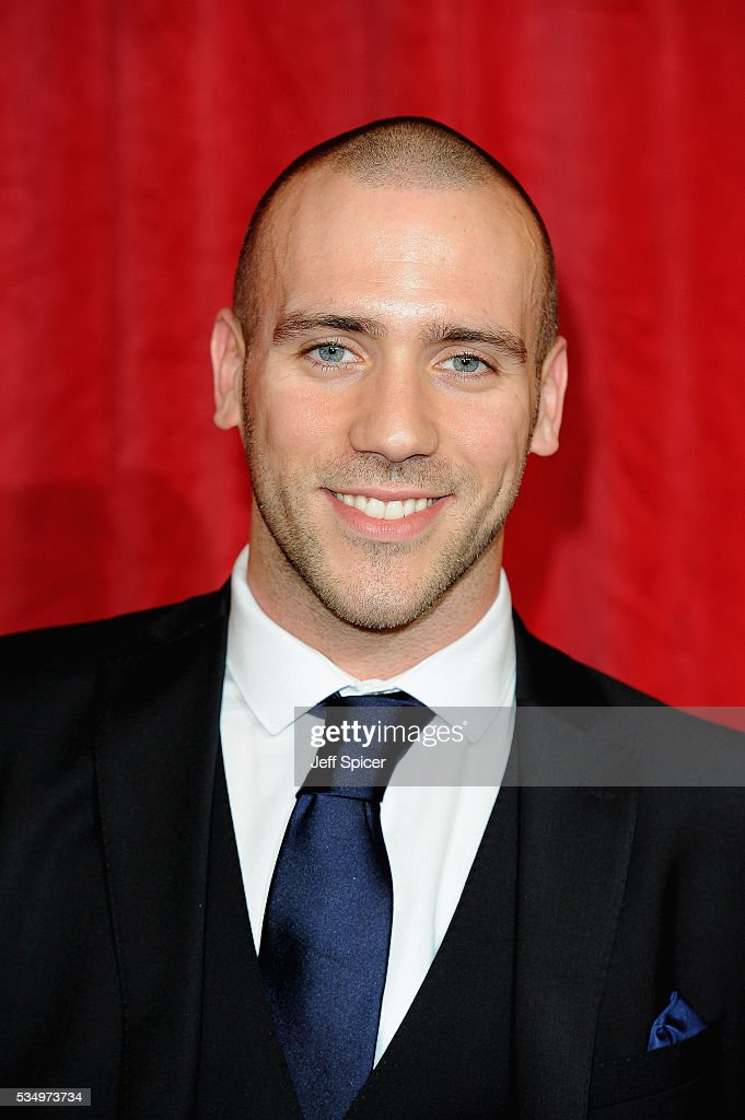 Jimmy Essex attends the British Soap Awards 2016 at Hackney Empire on May 28, 2016 in London, England.