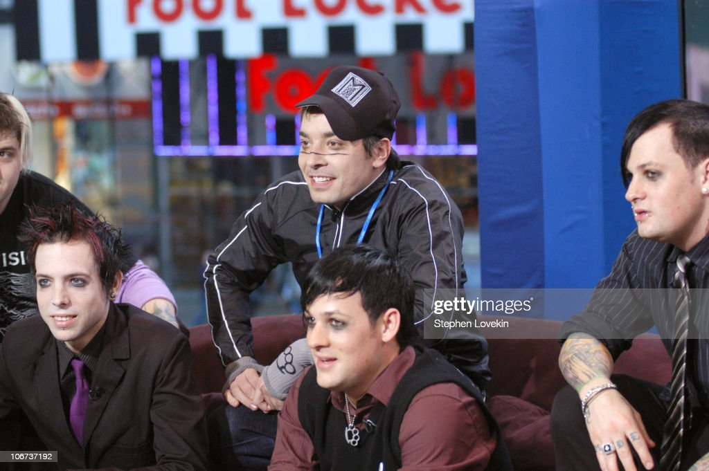 Jimmy Fallon and Billy Martin Benji Madden and Joel Madden of Good Charlotte