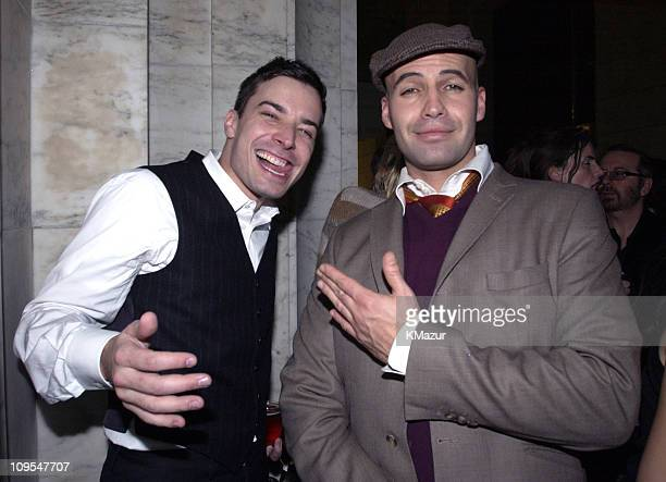 Jimmy Fallon and Billy Zane during 'Gangs of New York' World Premiere AfterParty at New York City Public Library 42nd Street in New York City New...