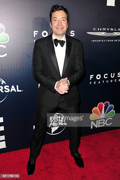 Jimmy Fallon arrives at NBCUniversal's 74th Annual Golden Globes After Party at The Beverly Hilton Hotel on January 8 2017 in Beverly Hills California