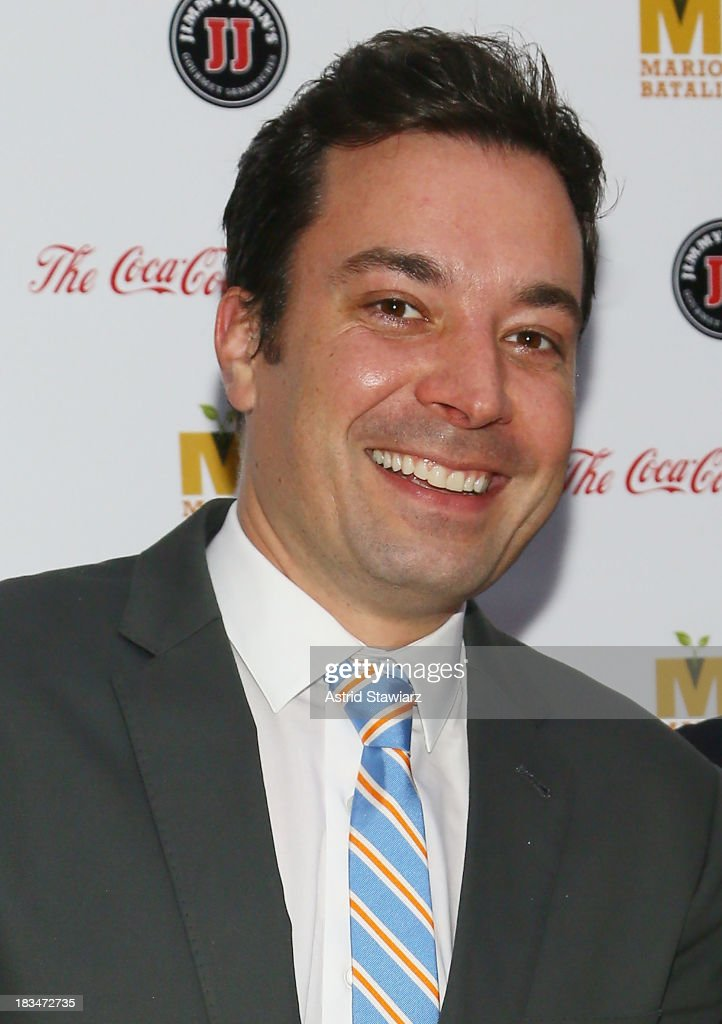 Jimmy Fallon attends 2nd Annual Mario Batali Foundation Honors Dinner at Del Posto Ristorante on October 6, 2013 in New York City.