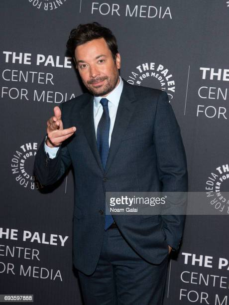Jimmy Fallon attends an evening with 'The Tonight Show starring Jimmy Fallon' at The Paley Center for Media on June 7 2017 in New York City