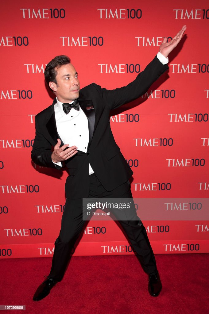 Jimmy Fallon attends the 2013 Time 100 Gala at Frederick P. Rose Hall, Jazz at Lincoln Center on April 23, 2013 in New York City.