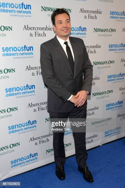Jimmy Fallon attends the 2017 SeriousFun Children's Network gala at Pier Sixty at Chelsea Piers on May 23 2017 in New York City