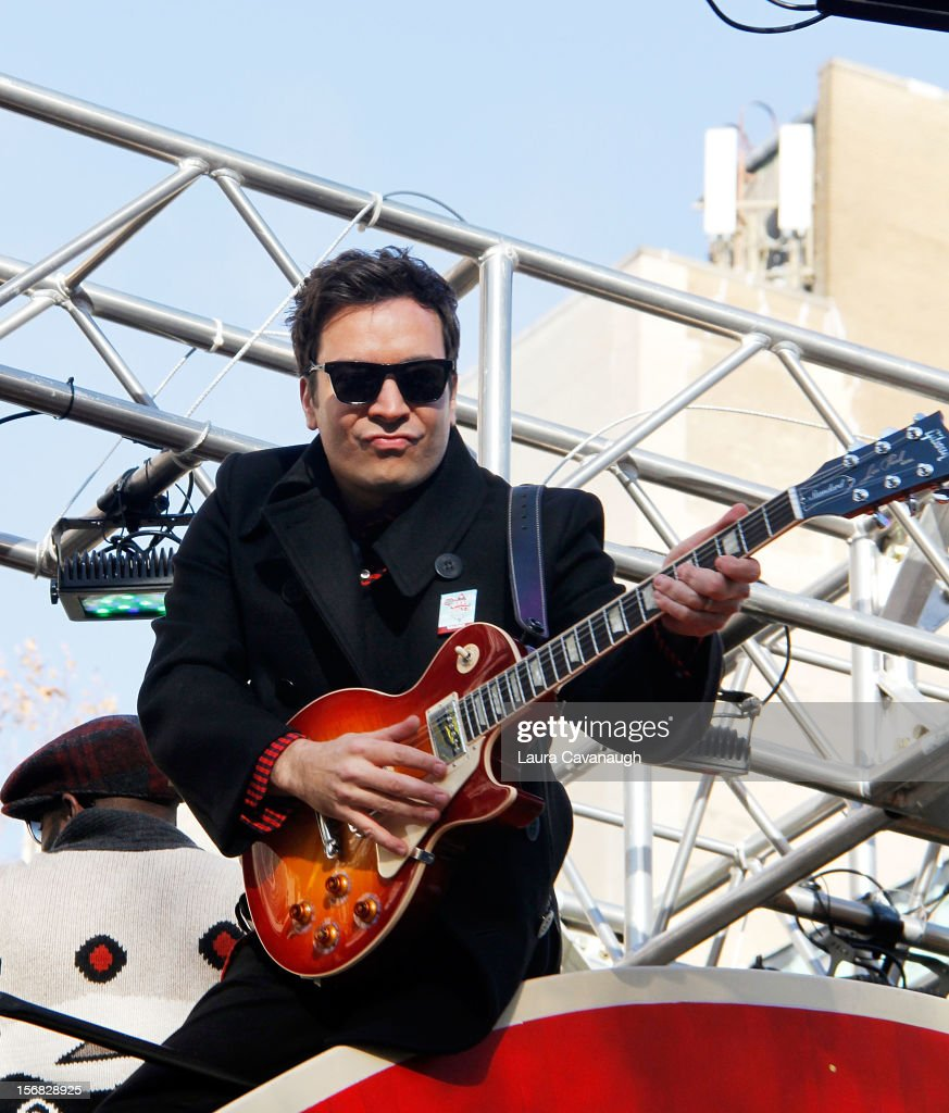 Jimmy Fallon attends the 86th Annual Macy's Thanksgiving Day Parade on November 22, 2012 in New York City.