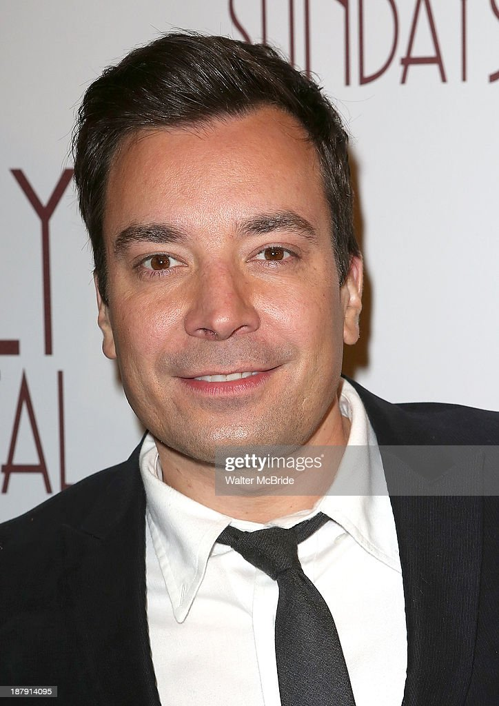 Jimmy Fallon attends the 'Billy Crystal - 700 Sundays' Broadway Opening Night Performance at the Imperial Theatre on November 13, 2013 in New York City.