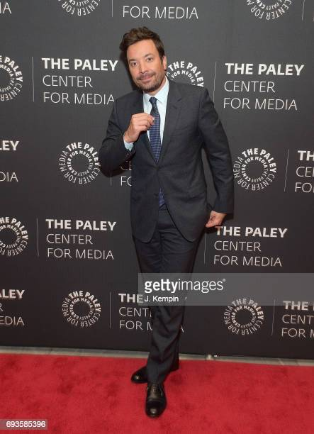 Jimmy Fallon attends The Paley Center For Media Presents An Evening With 'The Tonight Show Starring Jimmy Fallon' at The Paley Center for Media on...