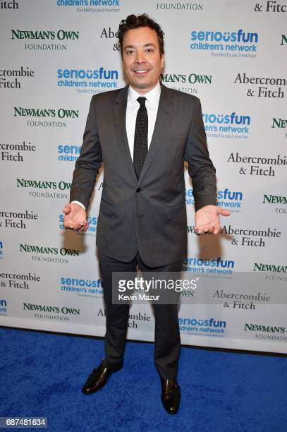 Jimmy Fallon attends the SeriousFun Children's Network Gala at Pier 60 on May 23 2017 in New York City