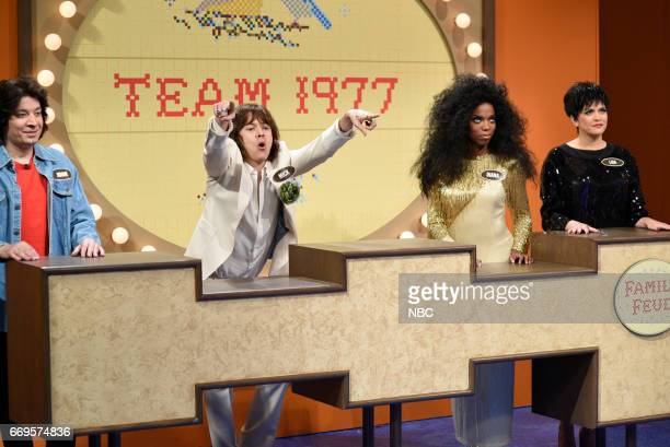 LIVE 'Jimmy Fallon' Episode 1722 Pictured Jimmy Fallon as John Travolta Harry Styles as Mick Jagger Sasheer Zamata as Diana Ross Cecily Strong as...