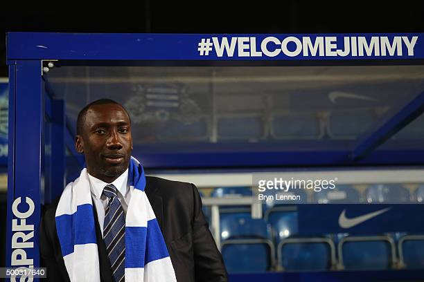 Jimmy Floyd Hasselbaink poses for a photo during a press conference to announce him as the new Queens Park Rangers Manager on December 7 2015 in...