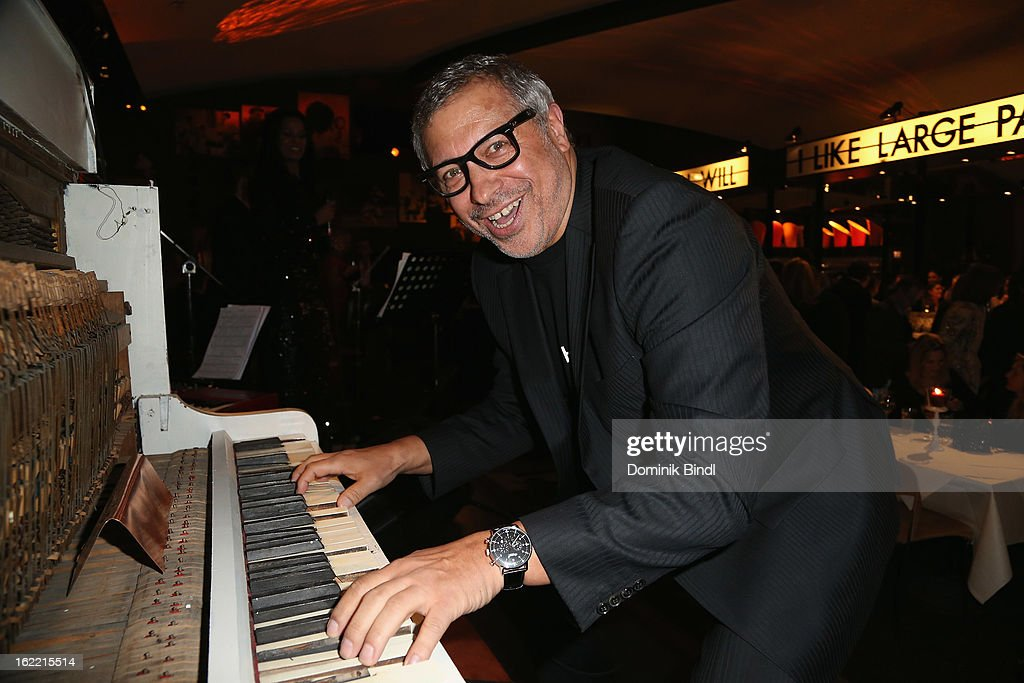 Jimmy Hartwig attends the Lazy Moon Dinner Club opening party on February 20, 2013 in Munich, Germany.