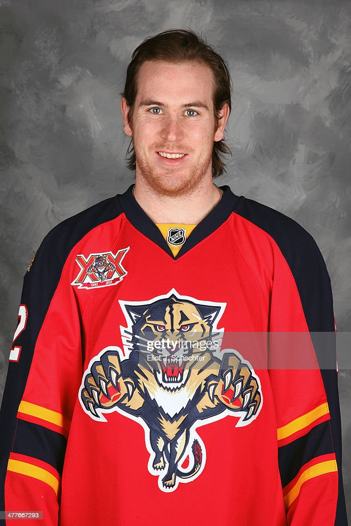 Jimmy Hayes #12 of the Florida Panthers poses for his official headshot for the 2013-2014 NHL season.