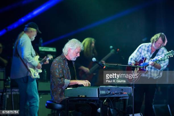 Jimmy Herring Chuck Leavell Dave Schools and John Bell perform on stage during Hampton 70 at The Fox Theatre on May 1 2017 in Atlanta Georgia