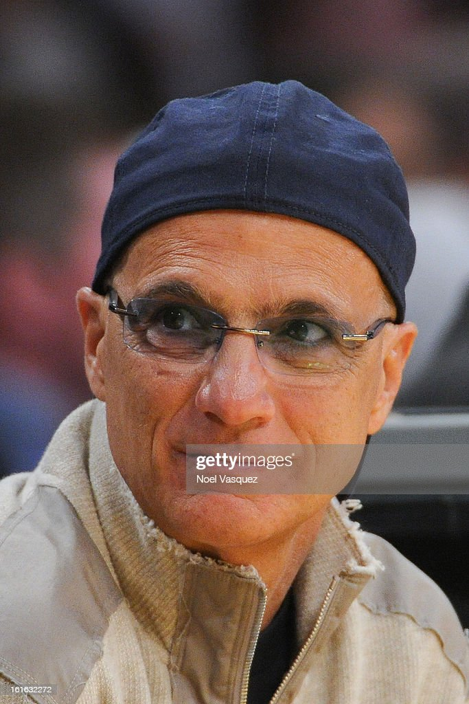 <a gi-track='captionPersonalityLinkClicked' href=/galleries/search?phrase=Jimmy+Iovine&family=editorial&specificpeople=850753 ng-click='$event.stopPropagation()'>Jimmy Iovine</a> attends a basketball game between the Phoenix Suns and the Los Angeles Lakers at Staples Center on February 12, 2013 in Los Angeles, California.