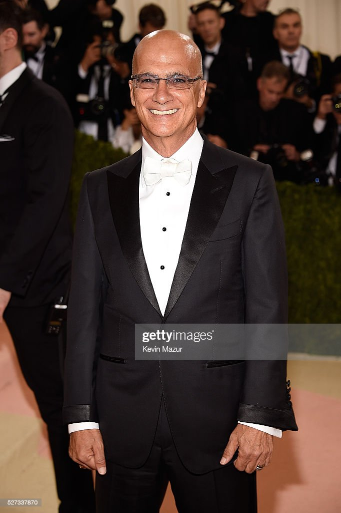 Jimmy Iovine attends 'Manus x Machina: Fashion In An Age Of Technology' Costume Institute Gala at Metropolitan Museum of Art on May 2, 2016 in New York City.