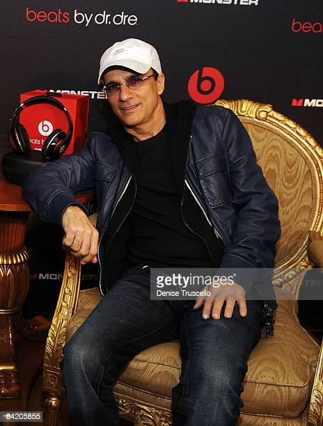Jimmy Iovine attends Monster's Beats By Dr Dre 'Sound Matter's' Listening Session at The Paris Hotel and Casino Resort on January 7 2009 in Las Vegas...