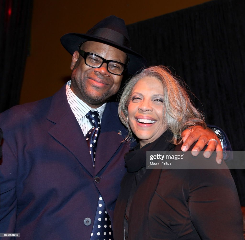 Jimmy Jam and patti Austin attend The 55th Annual GRAMMY Awards - Producers and Engineers Wing event honoring Quincy Jones And Al Schmitt on February 6, 2013 in Los Angeles, California.