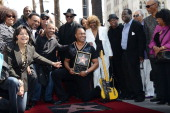 Jimmy Jam and Ray Parker Jr attend his Star on the Hollywood Walk of Fame reveal on March 6 2014 in Hollywood California