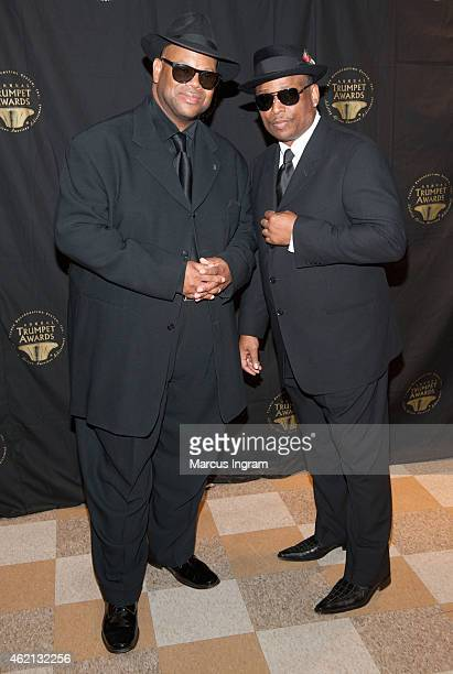 Jimmy Jam and Terry Lewis attend the 23rd Annual Trumpet Awards at Cobb Energy Performing Arts Center on January 24 2015 in Atlanta Georgia