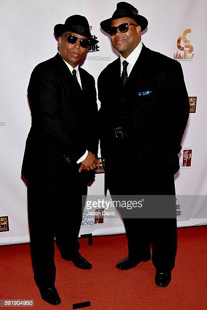 Jimmy Jam and Terry Lewis attend the NMAAM 2016 Black Music Honors on August 18 2016 in Nashville Tennessee
