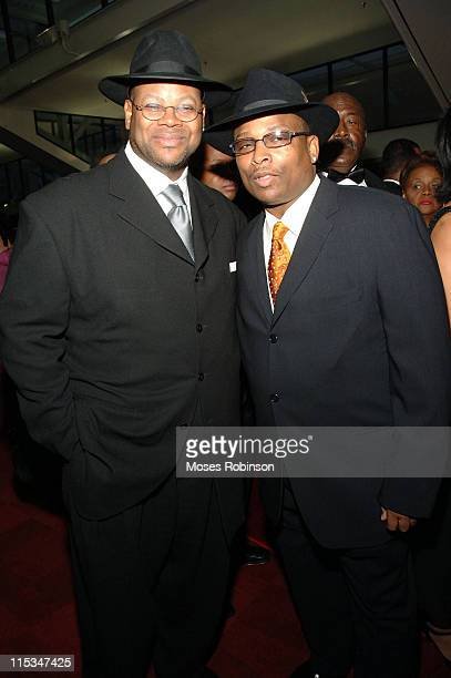 Jimmy Jam and Terry Lewis during 2006 Trumpet Awards Arrivals at Georgia World Congress Center in Atlanta Georgia United States
