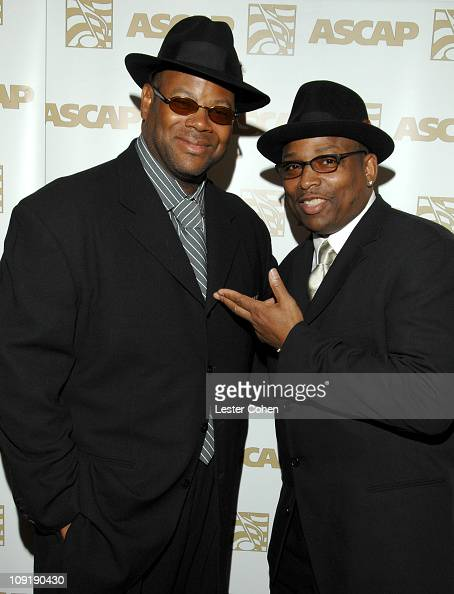 Jimmy Jam and Terry Lewis during ASCAP 'I Create Music' EXPO Day 1 at Renaissance Hotel in Hollywood California United States