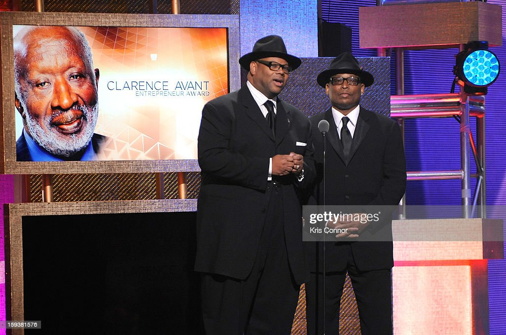 Jimmy Jam and Terry Lewis onstage at BET Honors 2013 at Warner Theatre on January 12, 2013 in Washington, DC.