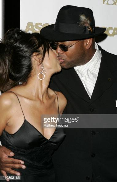 Jimmy Jam and wife Lisa during The 18th Annual Rhythm Soul Music Awards Arrivals at The Beverly Hills Hotel in Beverly Hills California United States