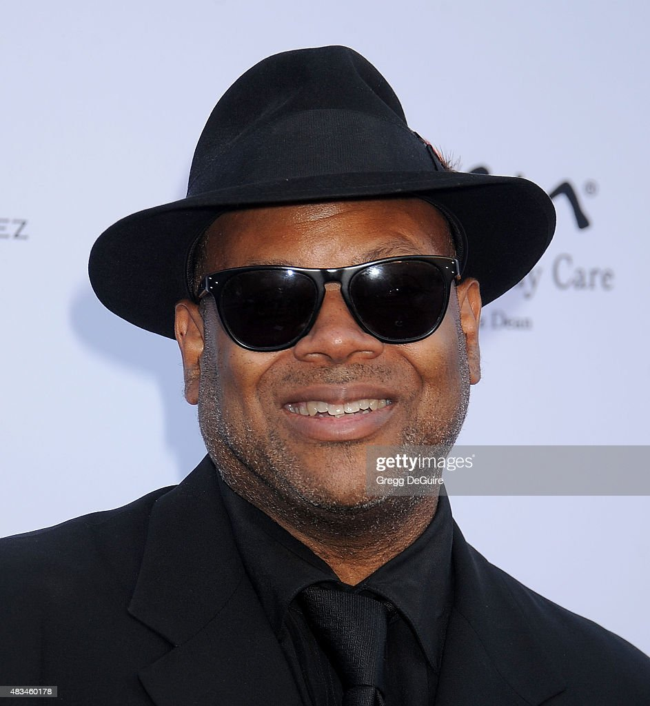 Jimmy Jam arrives at HollyRod Foundation's 17th Annual DesignCare Gala at The Lot Studios on August 8 2015 in Los Angeles California