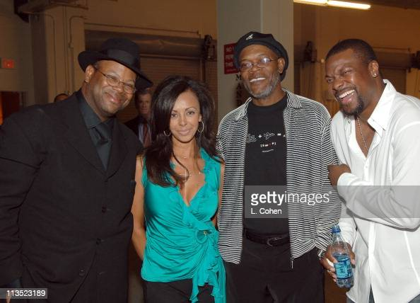 Jimmy Jam Lisa Harris Samuel L Jackson and Chris Tucker