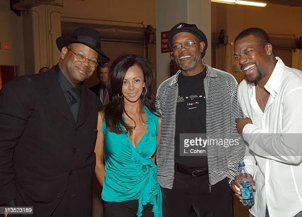Jimmy Jam Lisa Harris Samuel L Jackson and Chris Tucker