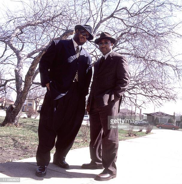 Jimmy Jam Terry Lewis 10/2/96 in Chicago Il