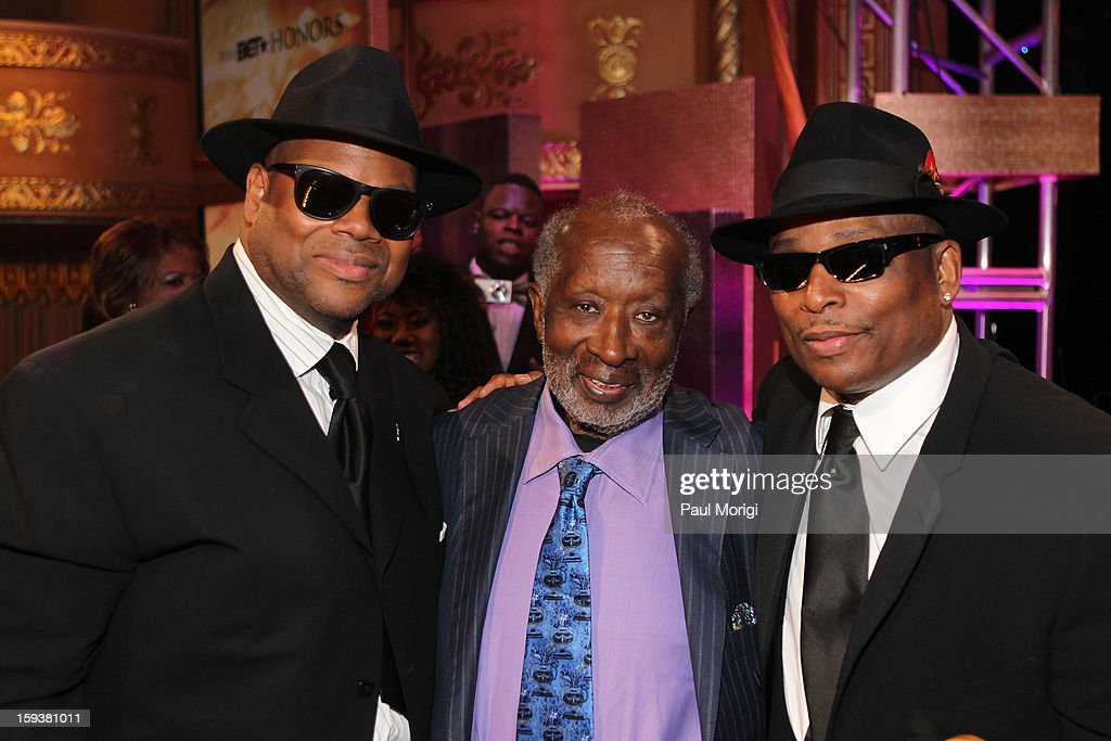 Jimmy Jam, Terry Lewis and Clarence Avant attend BET Honors 2013 at Warner Theatre on January 12, 2013 in Washington, DC.