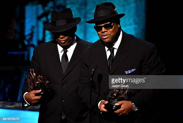 Jimmy Jam Terry Lewis are honored at the NMAAM 2016 Black Music Honors on August 18 2016 in Nashville Tennessee