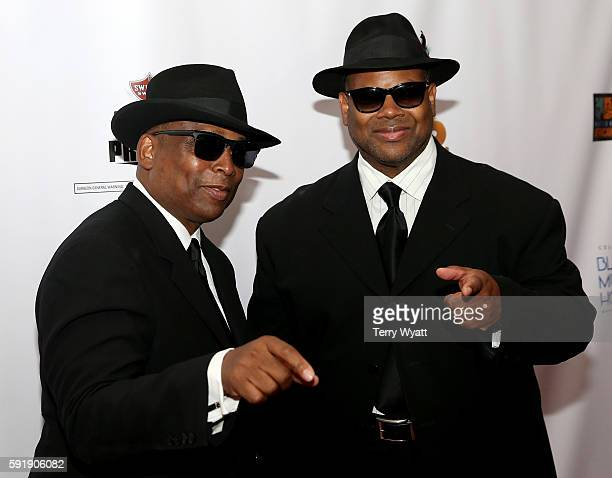 Jimmy Jam Terry Lewis the NMAAM 2016 Black Music Honors on August 18 2016 in Nashville Tennessee