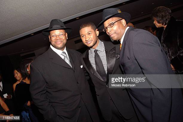 Jimmy Jam Usher and Terry Lewis during 2006 Trumpet Awards Arrivals at Georgia World Congress Center in Atlanta Georgia United States