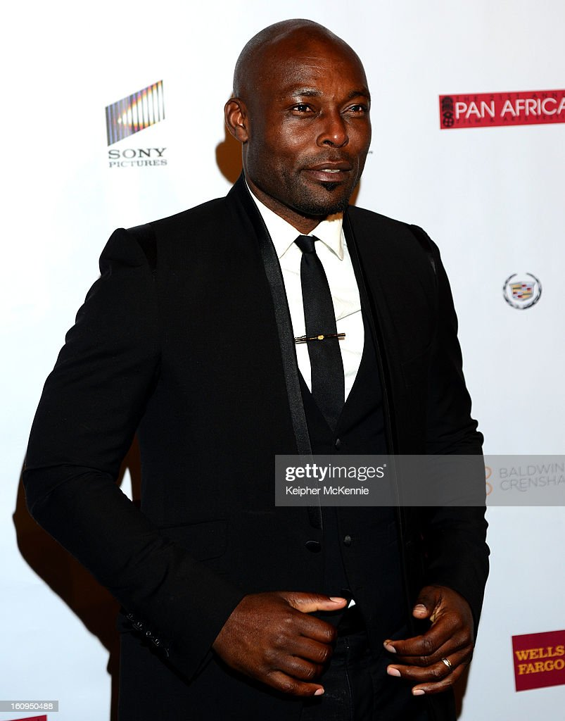Jimmy Jean Louis attends 21st Annual Pan African Film Festival Opening Night Gala premiere of Vipaka at DGA Theater on February 7, 2013 in Los Angeles, California.
