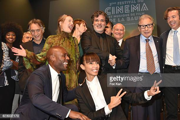 Jimmy Jean Louis Sonia Rolland Maitena Biraben Richard Berry Christophe Barratier Lalo Schifrin Stephane Lerouge and guests attend the Tribute to...