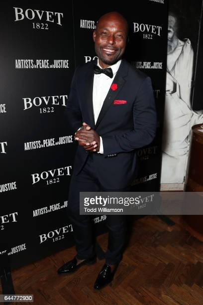 Jimmy JeanLouis attends BOVET 1822 Artists for Peace and Justice Present 'Songs From the Cinema' Benefit on February 23 2017 in Los Angeles California