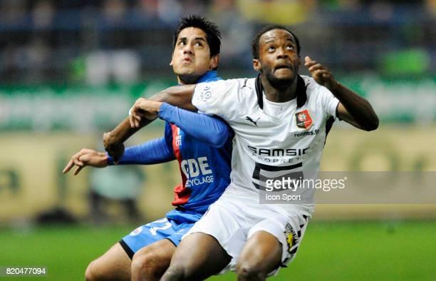BARZOLA / Jimmy KEMBO EKOKO Caen / Rennes 17eme journee e Ligue 1