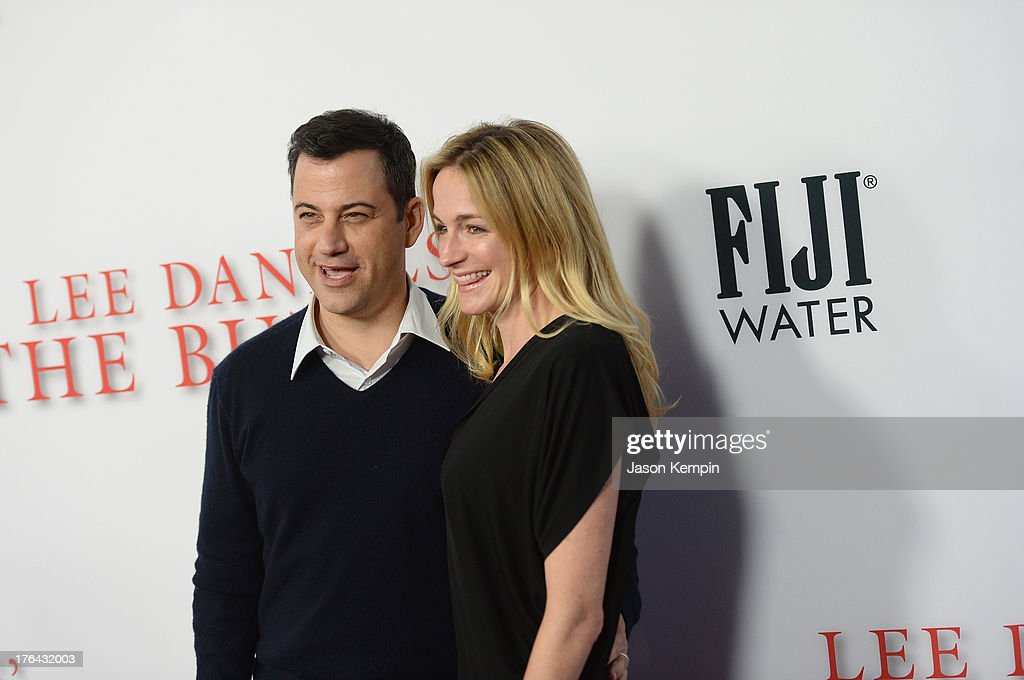 Jimmy Kimmel and Molly McNearney attend the Los Angeles premiere of 'Lee Daniels' The Butler' at Regal Cinemas L.A. Live on August 12, 2013 in Los Angeles, California.
